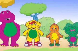 Barney Secret of the Rainbow